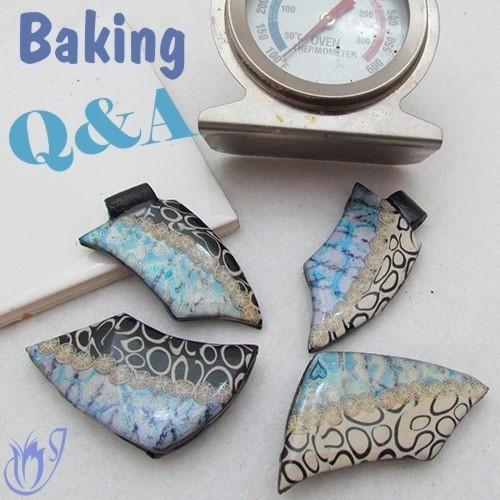 Baking polymer clay Q&A