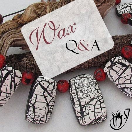 Polymer clay waxes Q&A