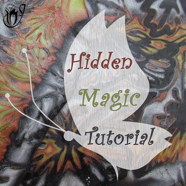 Polymer clay Hidden Magic Mokume Gane tutorial