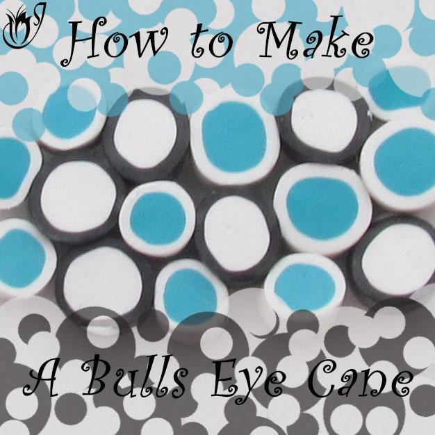 How to make a basic bulls eye cane