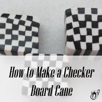 How to make a checkerboard cane