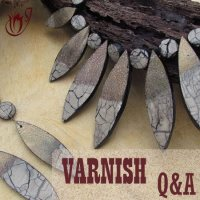 how to seal polymer clay With varnish - questions and answers