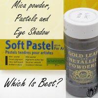 Mica Powder, eye shadow and pastels.