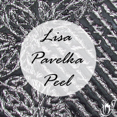 Black and Silver Polymer clay Lisa Pavelka Peel