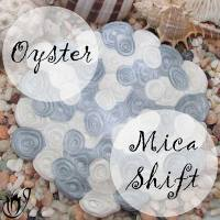 Polymer clay oyster mica shift