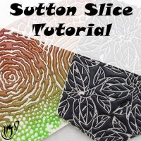 polymer clay sutton slice
