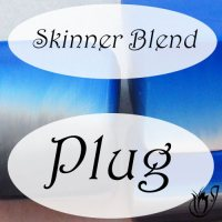 How to make a polymer clay skinner blend plug