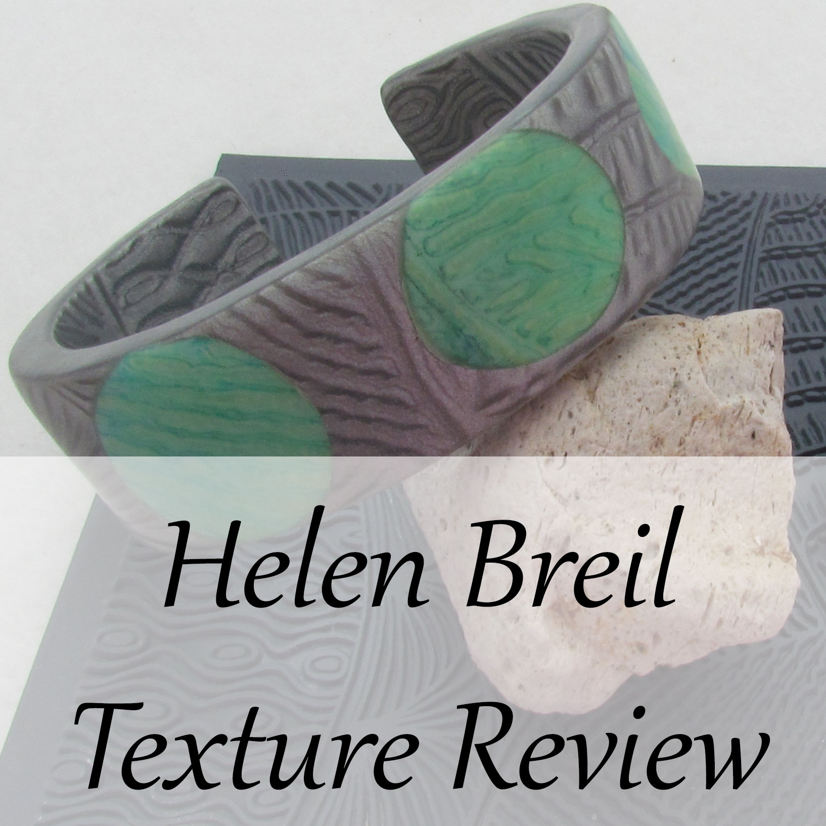 Helen Breil Texture Stamps for polymer clay