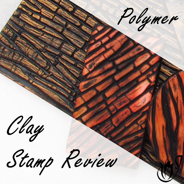 Handmade polymer clay texture stamps