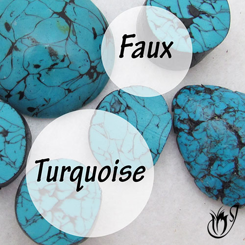 Faux Turquoise polymer clay tutorial
