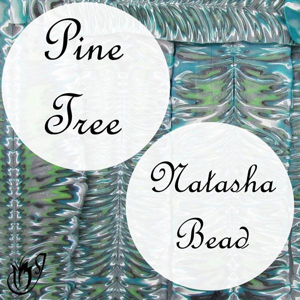How to make pine tree natasha beads