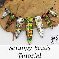 Scrappy Polymer Clay Beads