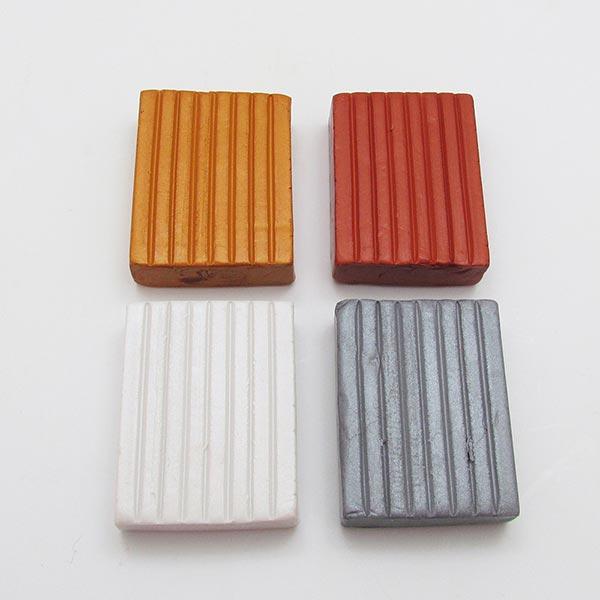 Kato polymer clay metallic colors