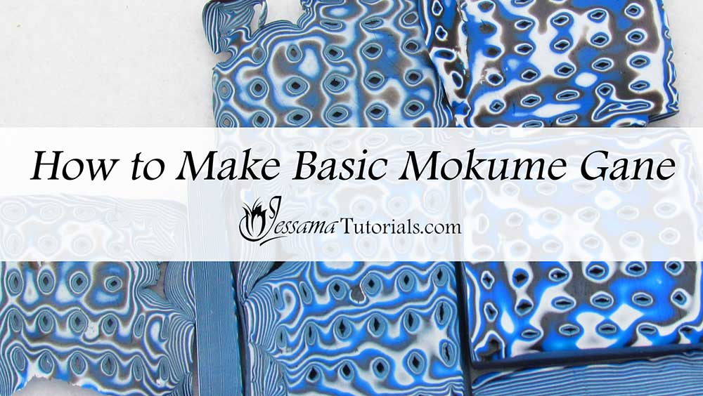 Basic Mokume Gane Polymer Clay Technique