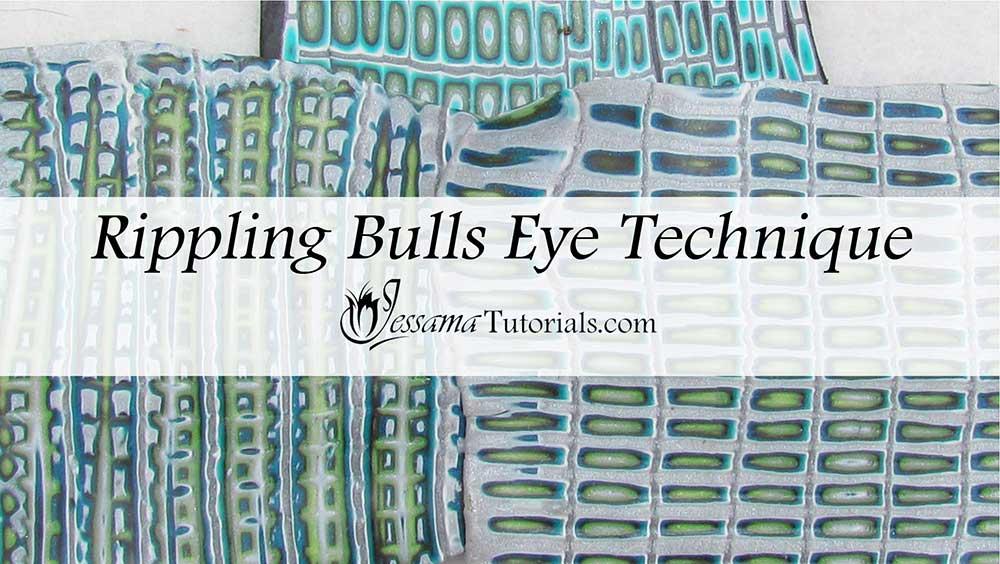 Rippling Bullseye Cane Mokume Gane Technique