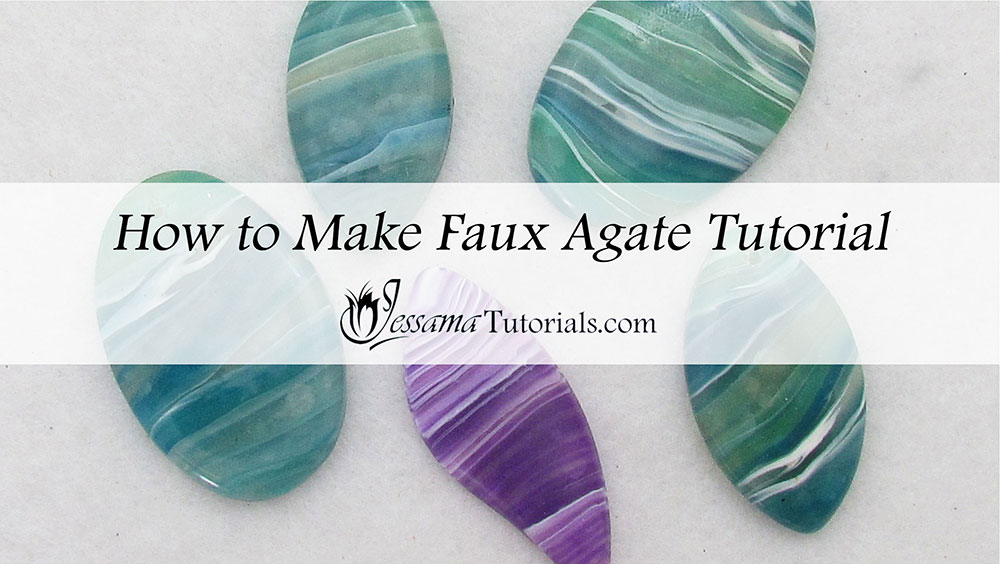 How to make faux agate