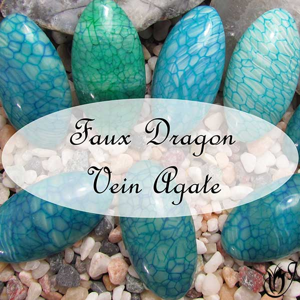 Faux Dragon Vein Agate