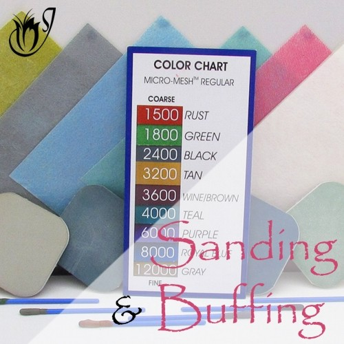 Sanding and Buffing Polymer Clay