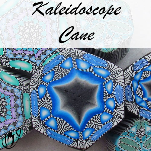 Polymer Clay Kaleidoscope Canes