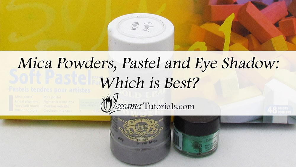 Mica Powders, Eye Shadow and Pastels for Polymer Clay