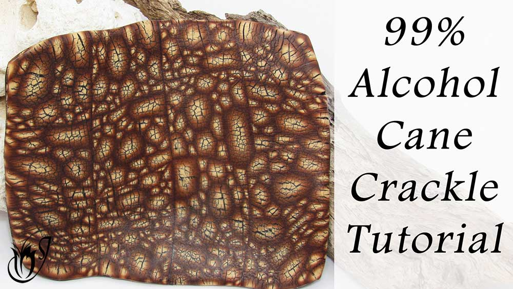 99% Alcohol Cane Polymer Clay Crackle