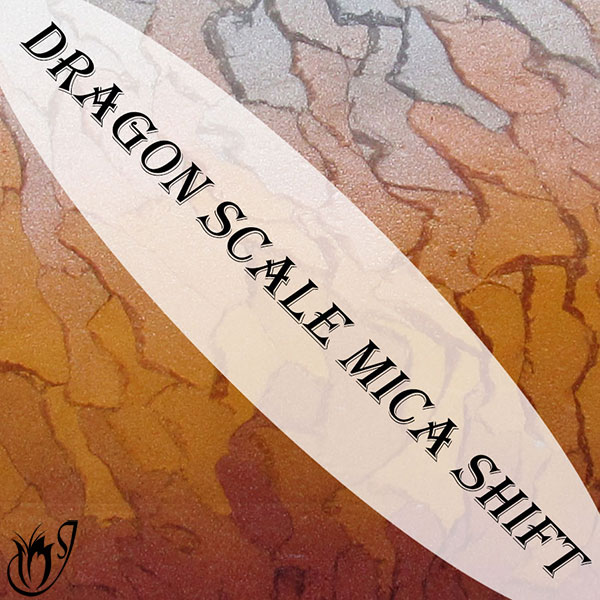 Dragon Scale Polymer Clay Mica Shift