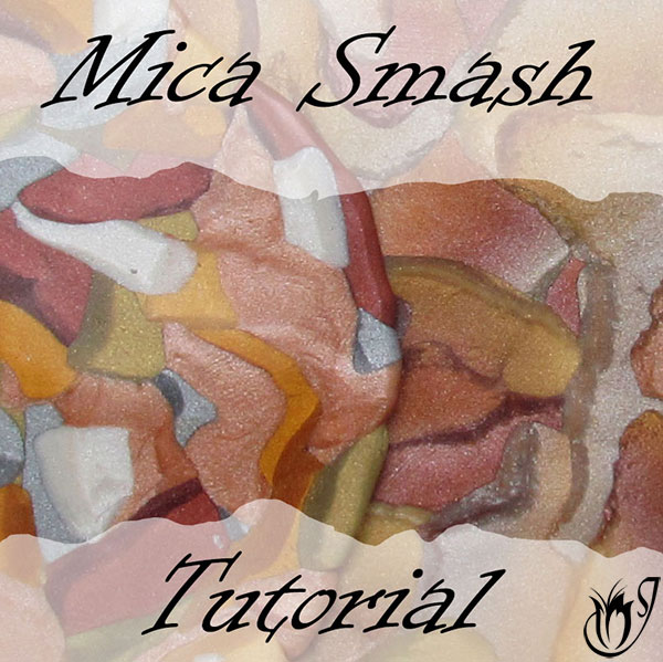 Polymer Clay Mica Smash