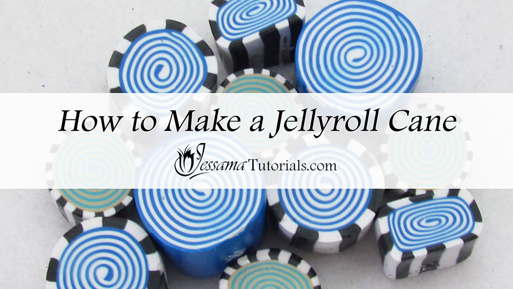 How to make a Jellyroll Cane