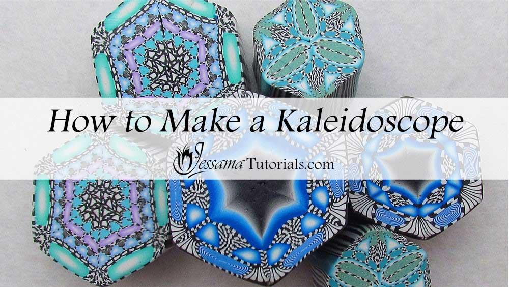 polymer clay kaleidoscope canes