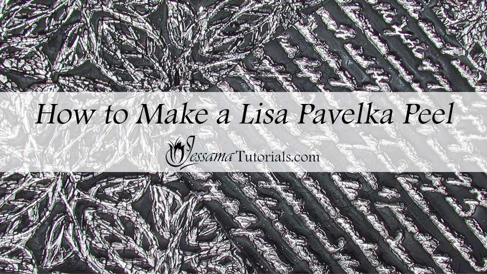 Lisa Pavelka Peel Polymer clay technique
