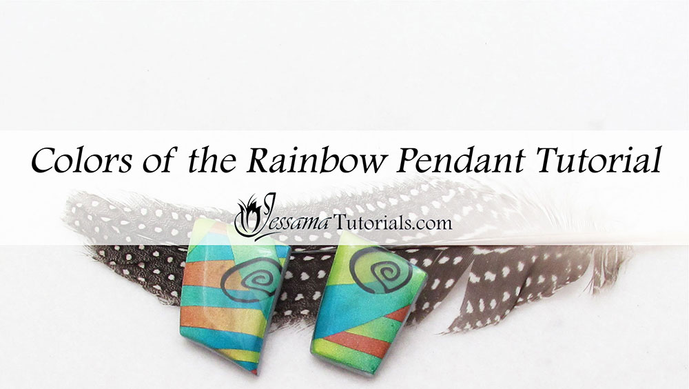 Rainbow Pendant Skinner Blend Tutorial