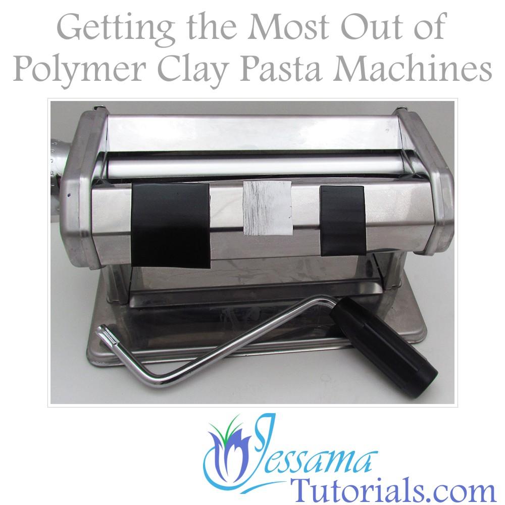 polymer clay pasta machines