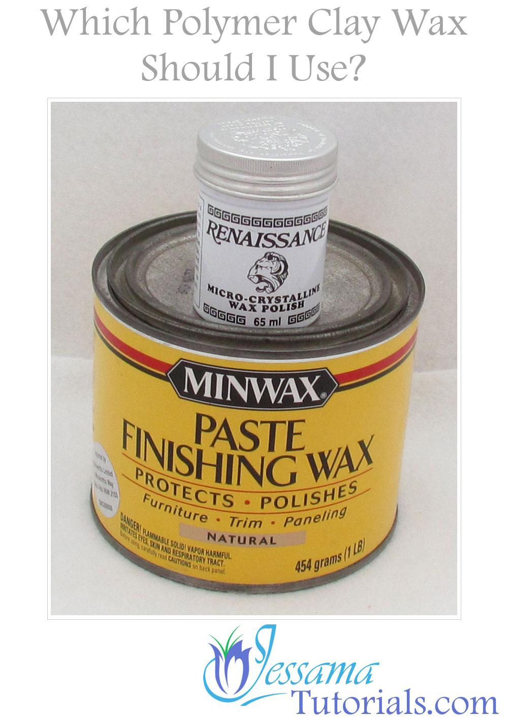 Polymer clay waxes