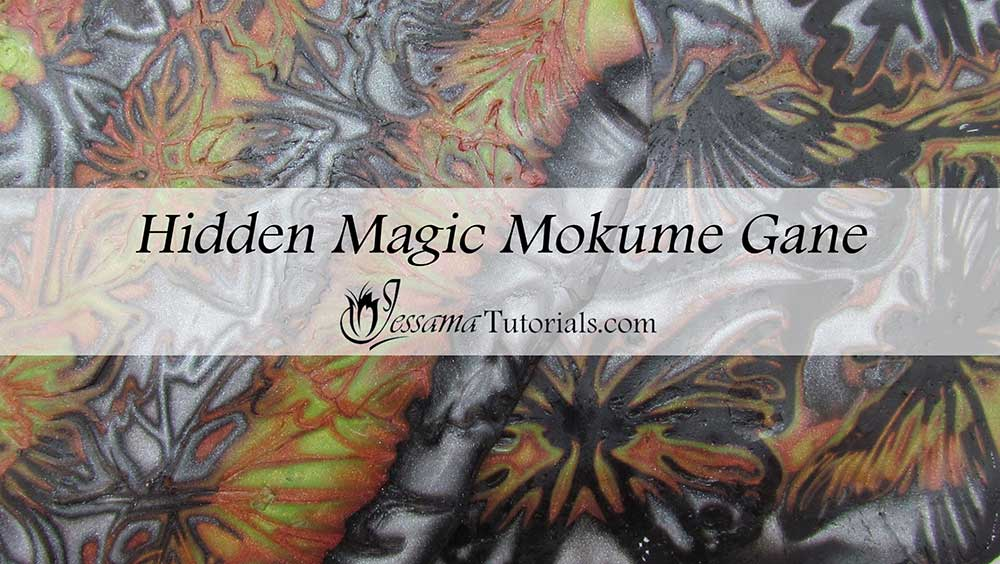 Polymer Clay Hidden Magic Mokume Gane