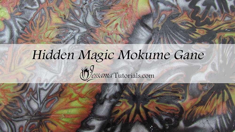 Polymer Clay Hidden Magic Mokume Gane