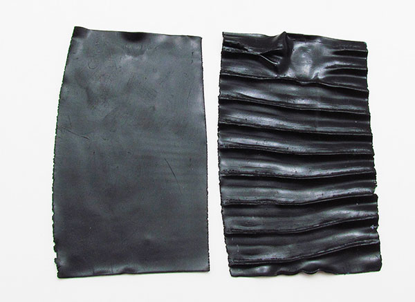 sheets of black Kato clay