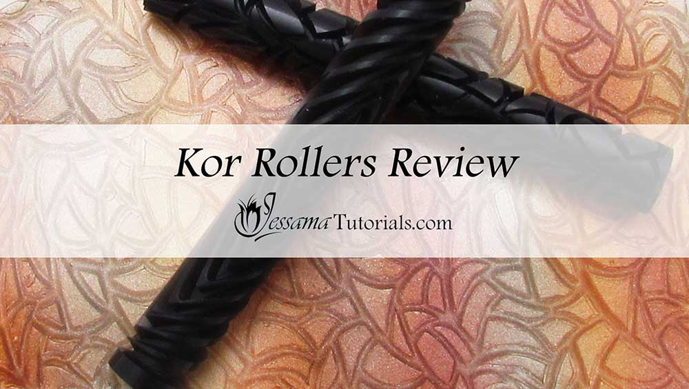 Kor Rollers review for polymer clay