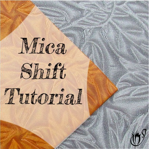 Mica Shift Polymer Clay Technique