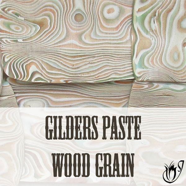 Gilders paste wood grain Mokume Gane