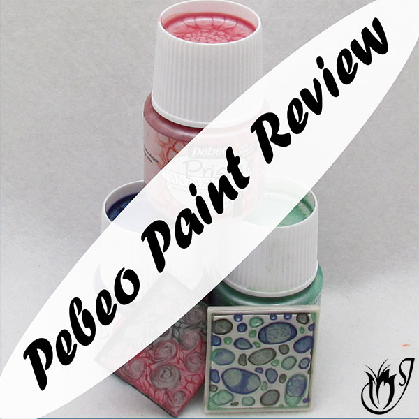 Pebeo Fantasy Paints and polymer clay