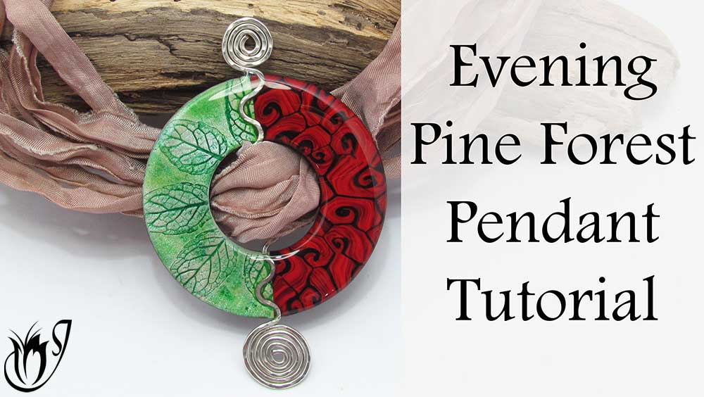 Evening Pine Forest Polymer Clay Project