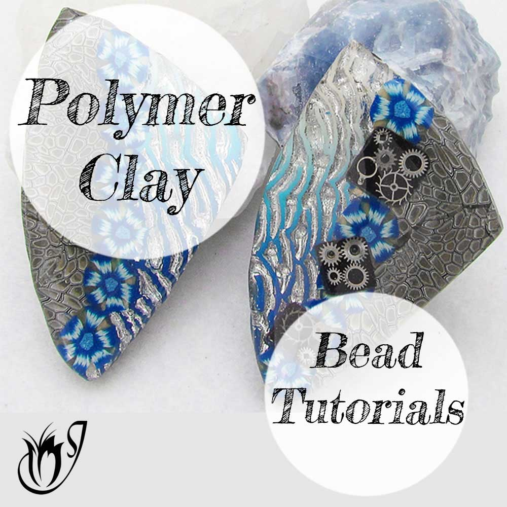 Polymer Clay Beads and Pendants
