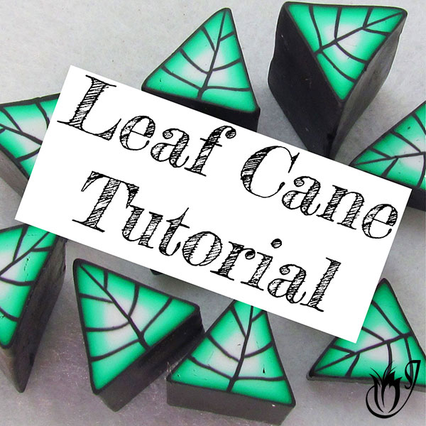 Basic Polymer Clay Leaf Canes