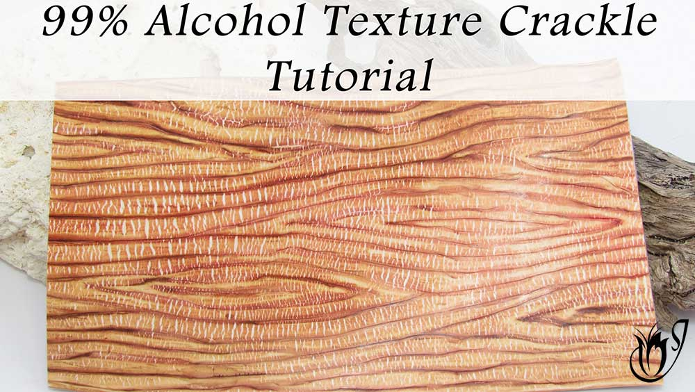 99% Alcohol Texture Polymer Clay Crackle