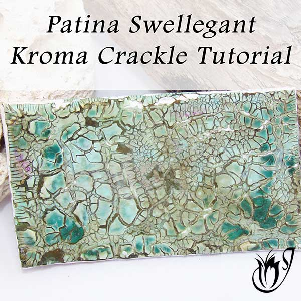Patina Swellegant Kroma Polymer Clay Crackle
