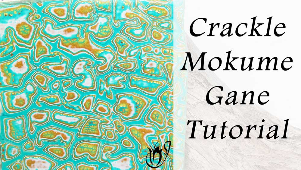 Mokume Gane Polymer Clay Crackle
