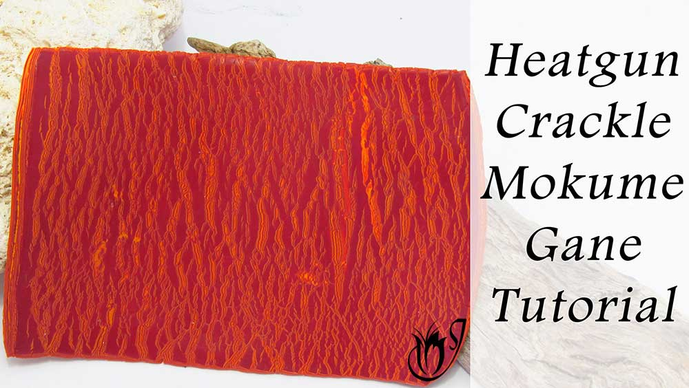 Heatgun Mokume Gane Polymer Clay Crackle