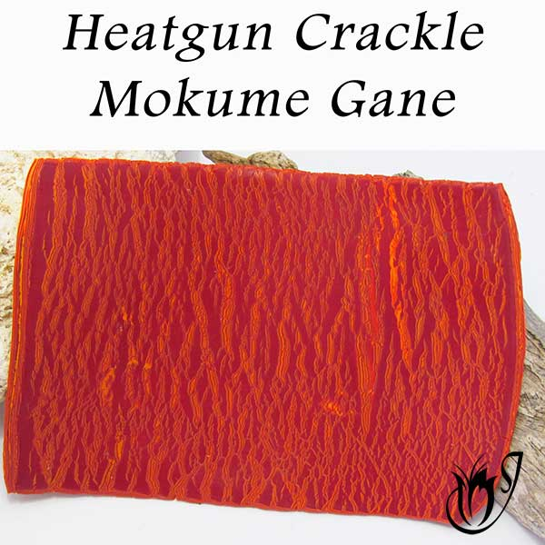 Heatgun Mokume Gane Polymer Clay Crackle