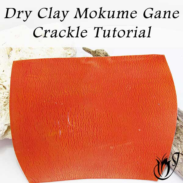Dry Clay Polymer Clay Crackle