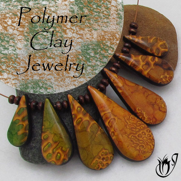 necklace by on clay five shell polymer paua pendant art royalkitness